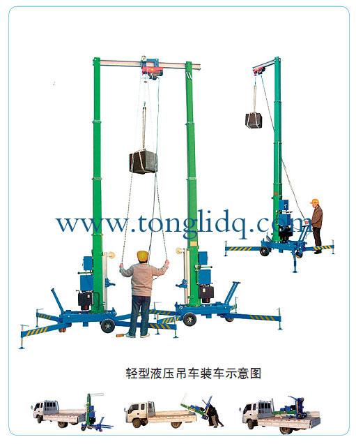 吊车支撑腿结构图片