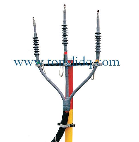 三芯电力电缆冷缩型终端头